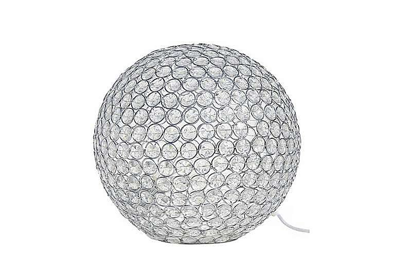 Aria Globe Table Lamp in  on Furniture Village