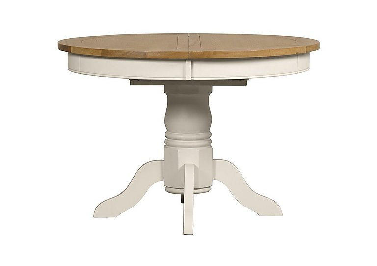 Wonderful Arles Round Extending Dining Table