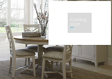 Arles Round Extending Dining Table in  on Furniture Village