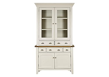 Arles Small 2 Door Sideboard with Glazed Hutch in  on Furniture Village