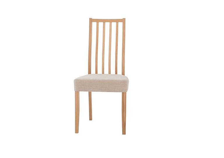 Artisan Slatted Back Dining Chair in  on Furniture Village