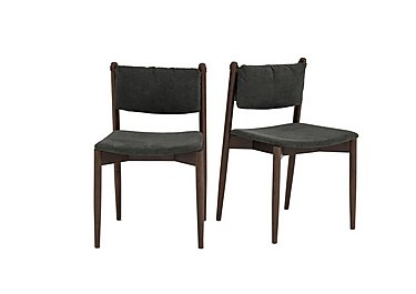 Art Deco Pair of Dining Chairs in  on Furniture Village