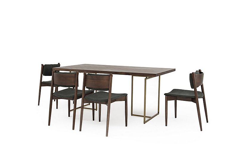 Pictures Of Art Deco Furniture Intended Art Deco Table And Dining Chairs Furniture Village