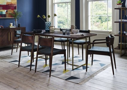 Art Deco Dining Table - Furniture Village