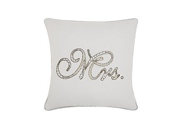 Beaded Mrs Cushion in  on Furniture Village