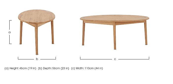 Battersea Coffee Table in  on Furniture Village