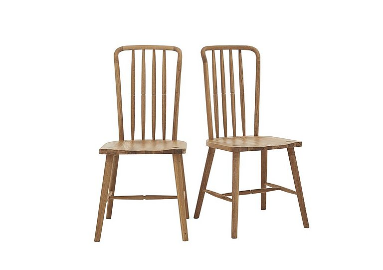 Battersea Pair of Dining Chairs in  on Furniture Village