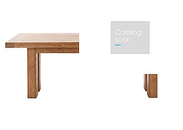 Big Oak Extending Dining Table in  on Furniture Village