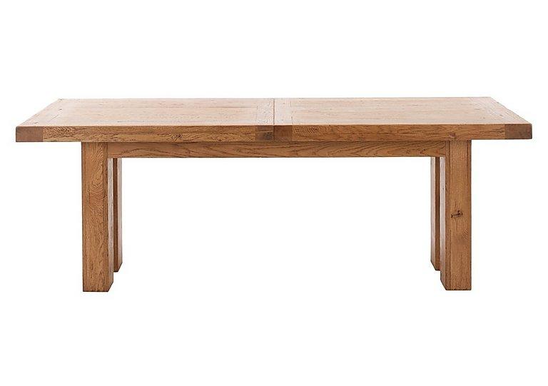 Big Oak Extending Dining Table in  on Furniture Village