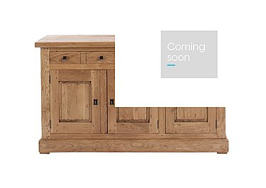 Big Oak 3 Door Sideboard in  on Furniture Village