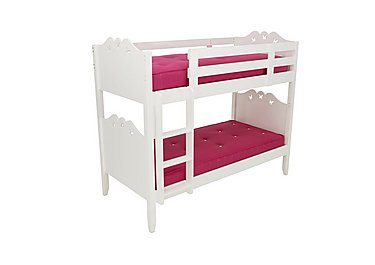 Blossom Bunk Bed Frame in  on Furniture Village