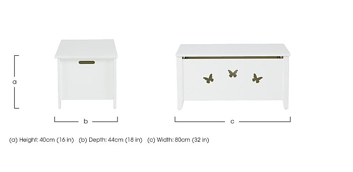 Blossom Toy Box in  on Furniture Village