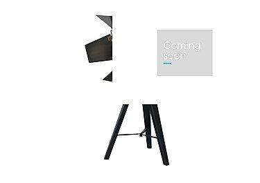 Black Wood Tripod Table Lamp in  on Furniture Village