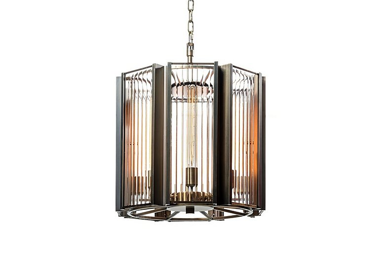 Brompton Large Ceiling Light in  on Furniture Village