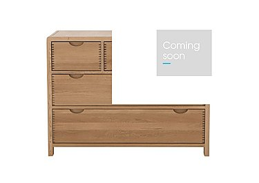 Bosco 5 Drawer Wide Chest in  on Furniture Village