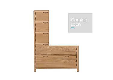 Bosco 6 Drawer Tall Wide Chest in  on Furniture Village
