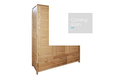 Bosco Triple Door Wardrobe in  on Furniture Village