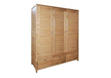 Bosco Triple Door Wardrobe in  on Furniture Village