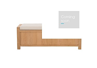 Bosco Storage Bench in  on Furniture Village