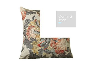 Bouquet Coral Cushion in  on Furniture Village
