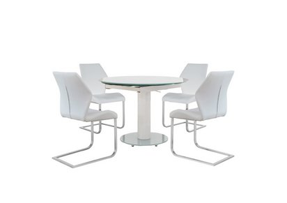 072cf60812a0 Bubble Extending Dining Table with 4 Motion Chairs - Furniture Village