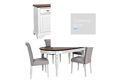 Emily Dining Table with 4 Chairs and Sideboard in  on Furniture Village