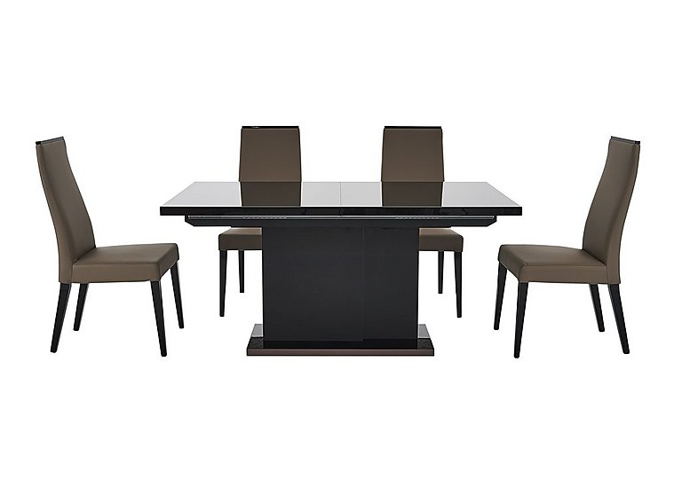 Marco Polo Extending Dining Table And 4 Chairs