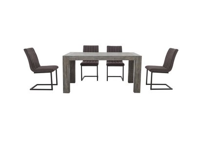 Tucson Extending Dining Table And 4 Dining Chairs Furniture Village
