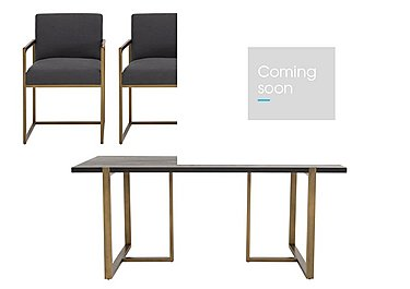 Vogue Dining Table and 4 Dining Armchairs in  on Furniture Village