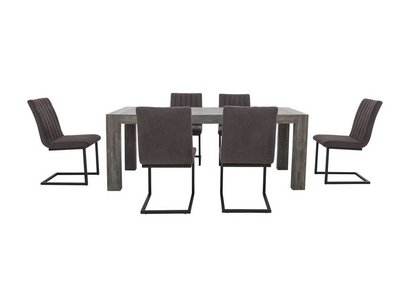 Tucson Extending Dining Table And 6 Chairs