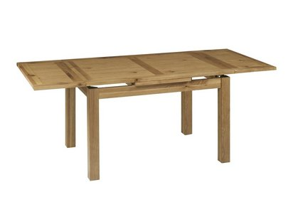 b6ca3e8291 Compton Oak Extending Dining Table with 4 Slatted Chairs and Sideboard