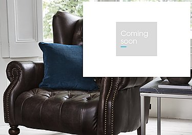 Cube Velour Cushion in  on Furniture Village