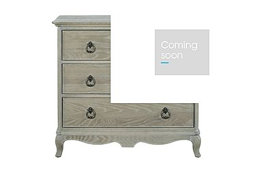 Camille 3 Drawer Oak Chest in  on Furniture Village