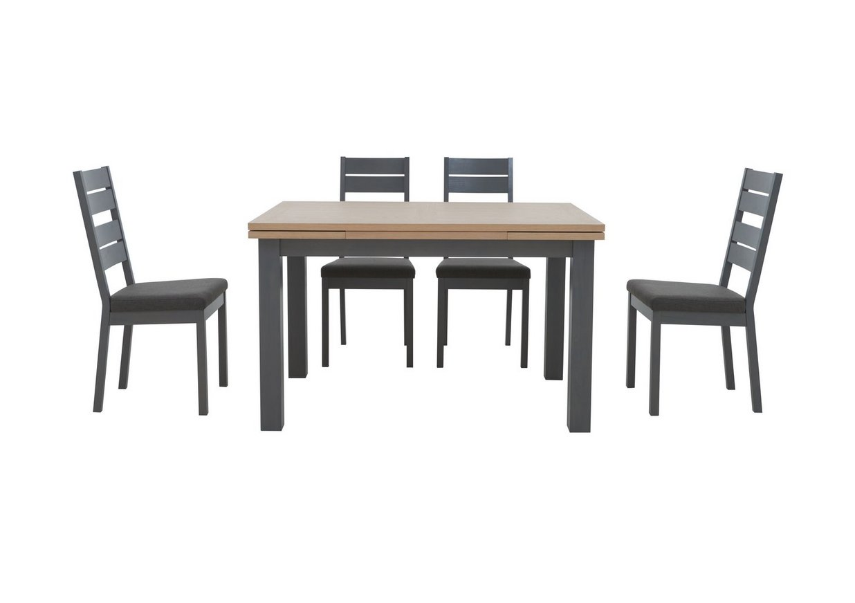Cayenne Extending Dining Table And 4 Chairs Furniture Village
