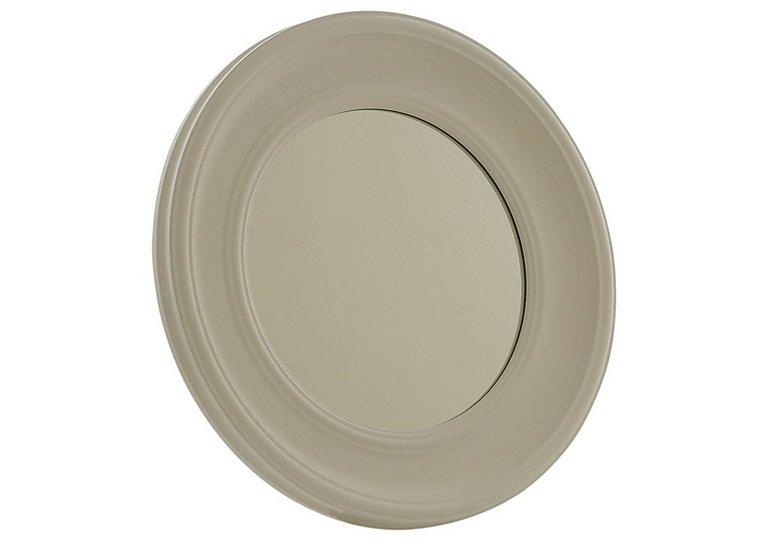 White Circles Mirror in  on Furniture Village