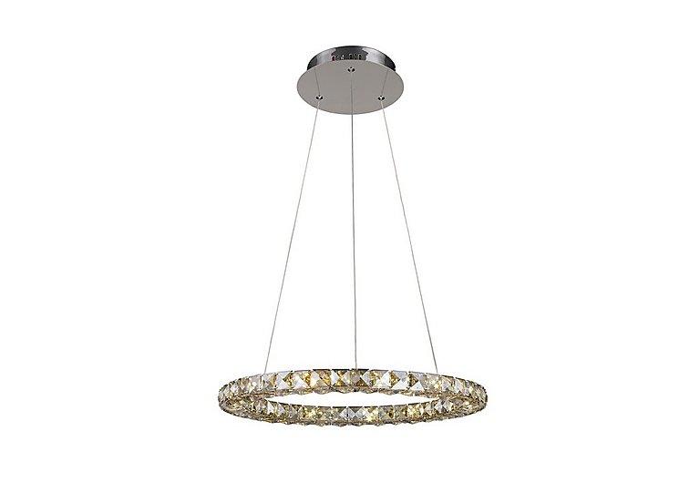 Celestina Single Ring Pendant Light in  on Furniture Village