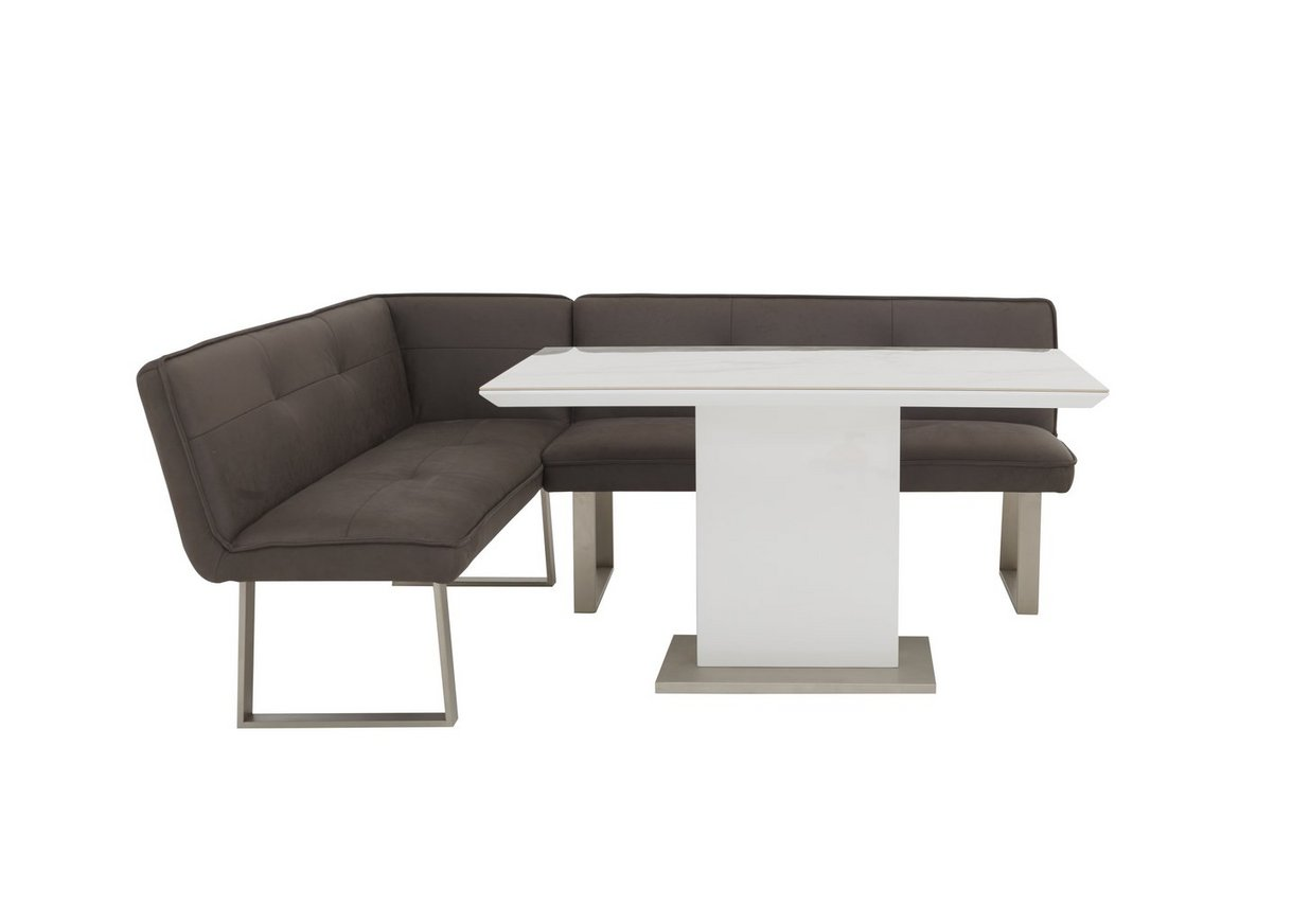 Central Park Dining Table And Left Hand Facing Corner Bench Furniture Village