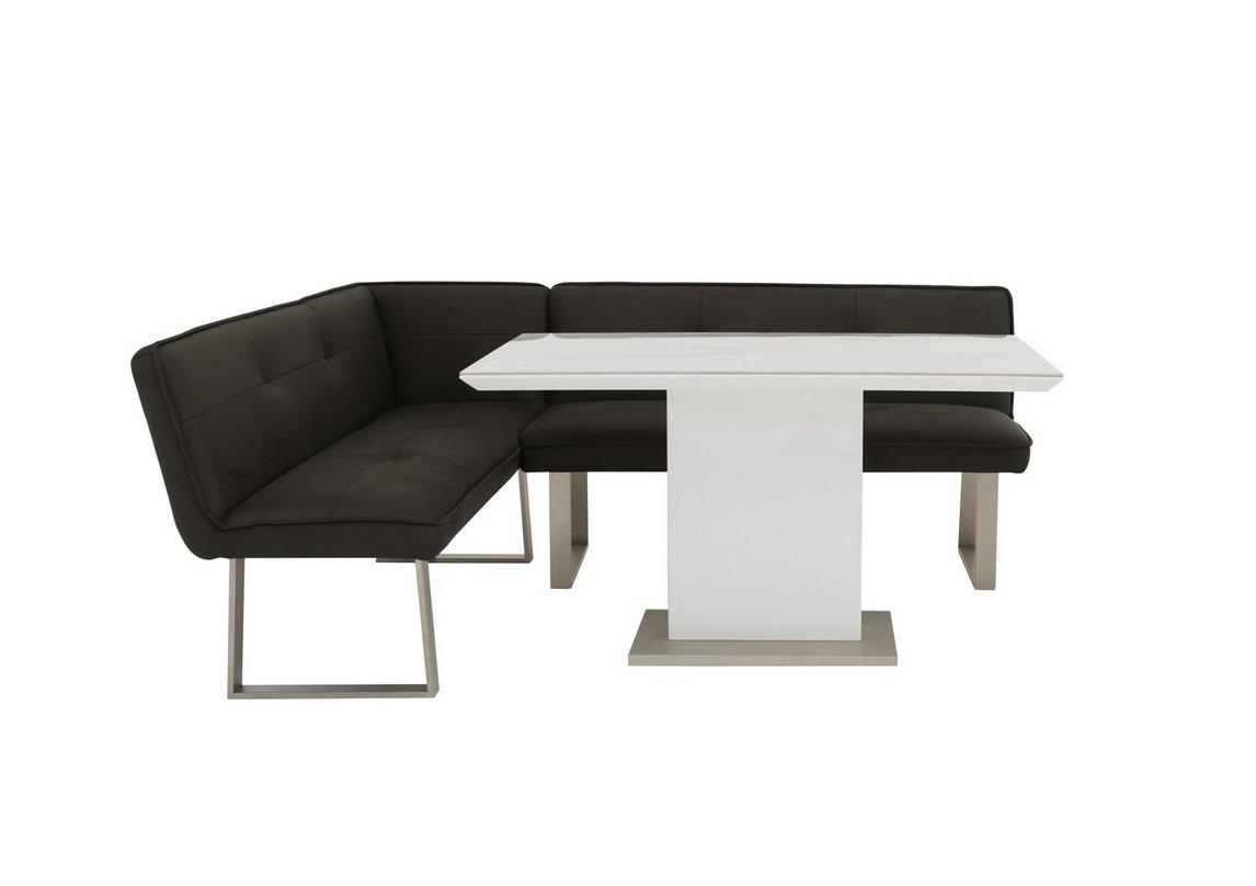 Central Park Dining Table And Left Hand Facing Corner Bench Set Furniture Village