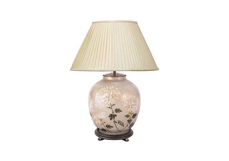 Chrysanthemum Table Lamp in  on Furniture Village