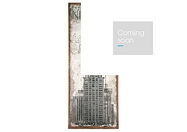 New York Oblong Wall Canvas in  on Furniture Village
