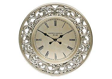 Clara Wall Clock in  on Furniture Village
