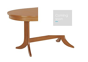 Classic Large Oval Extending Dining Table in  on Furniture Village