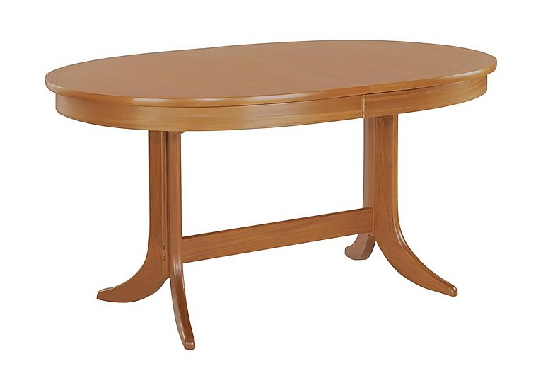 Classic Large Oval Extending Dining Table Nathan