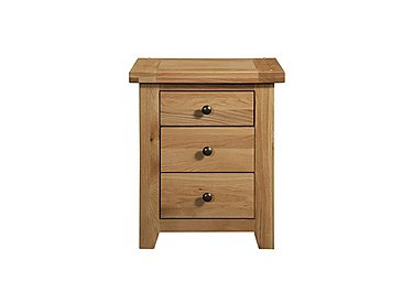 California 3 Drawer Bedside Table in  on Furniture Village
