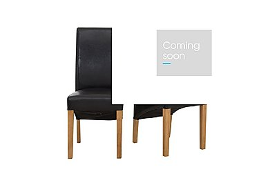 California Pair of Faux Leather Chairs in  on Furniture Village