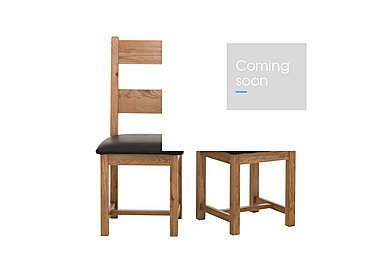 California Pair of Wood Ladderback Chairs in  on Furniture Village