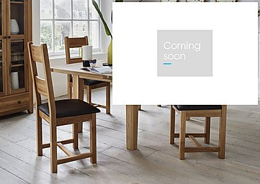 California Extending Rectangle Dining Table in  on Furniture Village