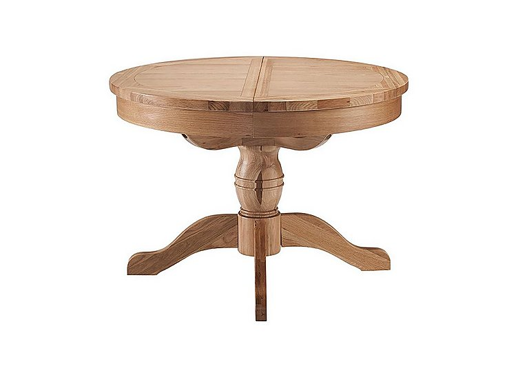 California Extending Round Pedestal Table