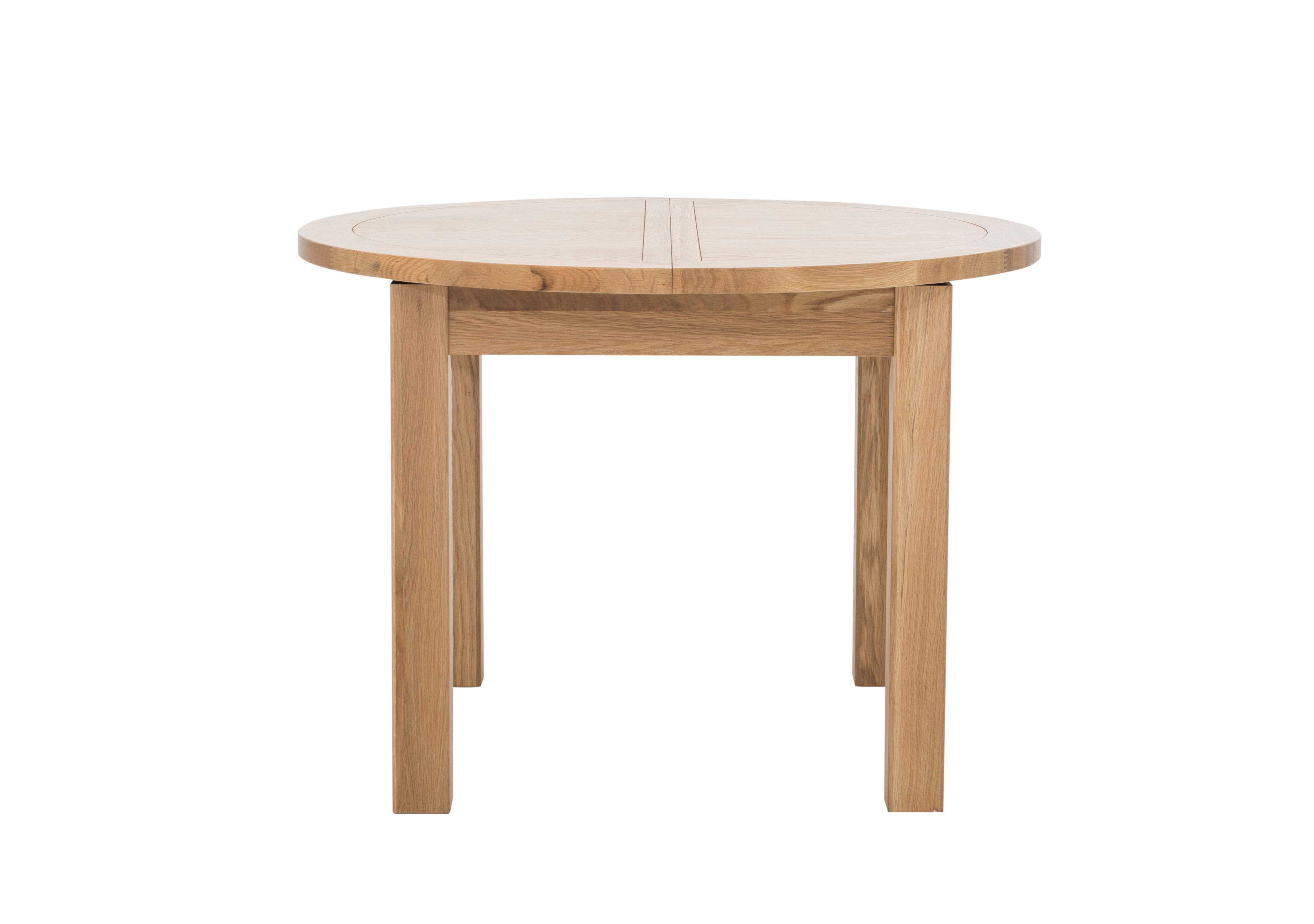 Furnitureland California Extending Round Table