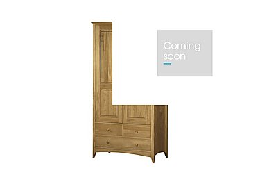 Chilton Pine Wardrobe in  on Furniture Village